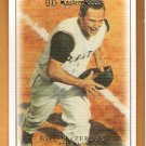 BILL MAZEROSKI 2007 UD Masterpieces Card #4 Pittsburgh Pirates SASE 4