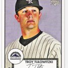 TROY TULOWITZKI 2007 Topps 52 Rookie Edition ROOKIE Card #5 Colorado Rockies FREE SHIPPING