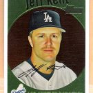 JEFF KENT 2008 Topps Heritage CHROME INSERT Card #C79 Los Angeles Dodgers FREE SHIPPING #'d