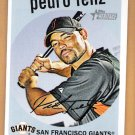 PEDRO FELIZ 2008 Topps Heritage SHORT PRINT Card #459 San Francisco Giants FREE SHIPPING