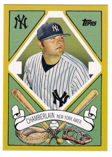 JOBA CHAMBERLAIN 2008 Topps Target T-205 400 Designs Insert Card TCP9 New York Yankees FREE SHIPPING