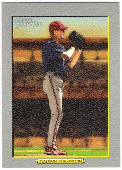 RYAN MADSON 2006 Topps Turkey Red SHORT PRINT Card #481 Philadelphia Phillies FREE SHIPPING