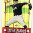 BEN SHEETS 2002 Donruss Best of Fan Club Favorites Card #292 #'d FREE SHIPPING Milwaukee Brewers