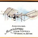 AERODROME 2008 Topps Allen & Ginter Pioneers Of Aviation INSERT Card #PA5 FREE SHIPPING