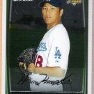 HIROKI KURODA 2008 Bowman Chrome ROOKIE Card #202 Los Angeles Dodgers FREE SHIPPING