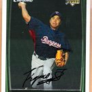 KAZUO FUKUMORI 2008 Bowman Chrome ROOKIE Card #214 Texas Rangers FREE SHIPPING