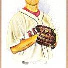 JONATHAN PAPELBON 2008 Topps Allen & Ginter A&G Back MINI Short Print Insert Card # 105 Red Sox