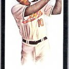 ADAM JONES 2008 Topps Allen & Ginter Mini BLACK BORDER Parallel Card #264 Baltimore Orioles