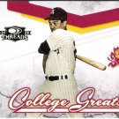 REGGIE JACKSON 2008 Donruss Threads College Greats INSERT Card #CG-2 New York Yankees FREE SHIPPING