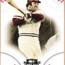 PETE ROSE 2008 Donruss Threads Baseball Card #21 Cincinnati Reds FREE SHIPPING