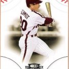 MIKE SCHMIDT 2008 Donruss Threads Baseball Card #38 Philadelphia Phillies FREE SHIPPING