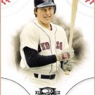 CARLTON FISK 2008 Donruss Threads Baseball Card #7 Boston Red Sox FREE SHIPPING
