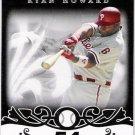 RYAN HOWARD 2008 Topps Moments & Milestones BLACK Card #30 #'d 16/25 Philadelphia Phillies