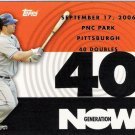DAVID WRIGHT 2007 Topps Generation Now INSERT Card #GN186 New York Mets SASE Baseball GN186