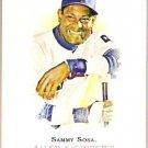 SAMMY SOSA 2007 Topps Allen & Ginter SHORT PRINT Card #345 Texas Rangers FREE SHIPPING Baseball