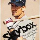 NOMAR GARCIAPARRA 2004 Skybox Autographics Baseball Card #16 Boston Red Sox SASE 16