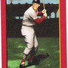 STAN MUSIAL 2006 Topps Turkey Red RED PARALLEL Short Print Card #589 St Louis Cardinals SASE 589 SP