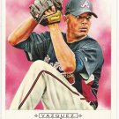 JAVIER VAZQUEZ 2009 Topps Allen & Ginter SHORT PRINT Insert Card #305 Atlanta Braves FREE SHIPPING