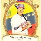 VICTOR MARTINEZ 2009 Topps Allen & Ginter National Pride INSERT Card #NP57 Cleveland Indians