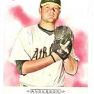 BRETT ANDERSON 2009 Topps Allen & Ginter ROOKIE Card #171 Oakland A's FREE SHIPPING Baseball