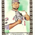FRANCISCO LIRIANO 2009 Topps Allen & Ginter Code PARALLEL Card 77 Minnesota Twins FREE SHIPPING