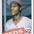 ERIC DAVIS 1985 Topps ROOKIE Baseball Card #627 Cincinnati Reds FREE SHIPPING