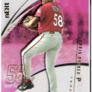 CHRIS BOOKER 2002 Fleer E-X Short Print ROOKIE Card #104 #d Cincinnati Reds FREE SHIPPING