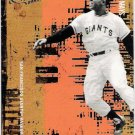 WILLIE MAYS 2005 Donruss Leather and Lumber SHORT PRINT Card #150 San Francisco Giants FREE SHIPPING