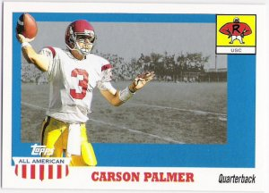 CARSON PALMER 2003 Topps All American ROOKIE Card #101 Cincinnati Bengals FREE SHIPPING