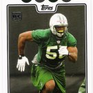 VERNON GHOLSTON 2008 Topps ROOKIE Card #402 New York Jets FREE SHIPPING Ohio State Buckeyes