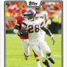 ADRIAN PETERSON 2008 Topps Football Card #65 Minnesota Vikings FREE SHIPPING