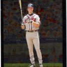 CHIPPER JONES 2007 Topps Chrome Baseball Card #46 Atlanta Braves SASE 46