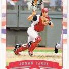 JASON LARUE 2002 Fleer Tiffany PARALLEL Card #162 NUMBERED 175/200 Cincinnati Reds SASE #'d 162
