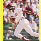 BARRY LARKIN 1987 Classic Update Yellow W/ Green Back ROOKIE Card #133 Cincinnati Reds FREE SHIPPING