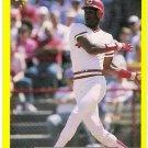 ERIC DAVIS 1987 Classic Update Yellow w/ Green Back VARIATION Card #102 Cincinnati Reds SASE 102