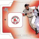 NOMAR GARCIAPARRA 2002 Fleer E-X Behind The Numbers INSERT Card #7BN Boston Red Sox FREE SHIPPING