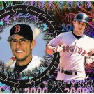 NOMAR GARCIAPARRA 2000 Pacific Crown Latinos of the Major Leagues INSERT Card #4 Boston Red Sox SASE