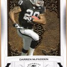 DARREN MCFADDEN 2009 Donruss Classics Card #72 Oakland Raiders FREE SHIPPING Football 72