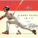 ALBERT PUJOLS 2004 Fleer Classic Clippings Card #17 St Louis Cardinals FREE SHIPPING Baseball 17