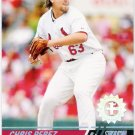 CHRIS PEREZ 2008 Topps Stadium Club First Day Issue Parallel ROOKIE Card #148 St Louis Cardinals