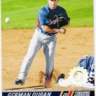 GERMAN DURAN 2008 Topps Stadium Club First Day Issue Parallel ROOKIE Card # 146 Texas Rangers