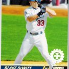 BLAKE DEWITT 2008 Topps Stadium Club First Day Issue ROOKIE Card #127 Los Angeles Dodgers