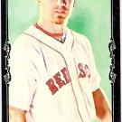 J.D. DREW 2009 Topps Allen & Ginter BLACK BORDER MINI Parallel Card #127 Boston Red Sox