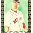 J.D. DREW 2009 Topps Allen & Ginter CODE PARALLEL Card #127 Boston Red Sox FREE SHIPPING