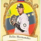 FELIX HERNANDEZ 2009 Topps Allen & Ginter National Pride INSERT Card #NP17 Seattle Mariners
