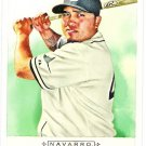 DIONER NAVARRO 2009 Topps Allen & Ginter SHORT PRINT Card #325 Tampa Bay Rays FREE SHIPPING