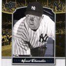 SPUD CHANDLER 2008 Upper Deck Yankee Stadium Legacy Collection INSERT Card #1640 New York Yankees