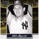 ALLIE REYNOLDS 2008 Upper Deck Yankee Stadium Legacy Collection INSERT Card #1890 New York Yankees