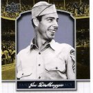JOE DIMAGGIO 2008 Upper Deck Yankee Stadium Legacy Collection INSERT Card #1665 New York Yankees