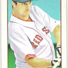 ROCCO BALDELLI 2009 Topps 206 POLAR BEAR MINI Parallel Card #7 Boston Red Sox FREE SHIPPING